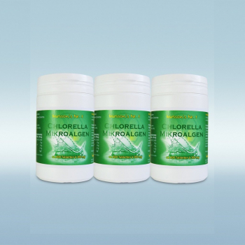Chlorella-Mikroalgen - Made in Germany! 3x 600 Tabl. (540 g)