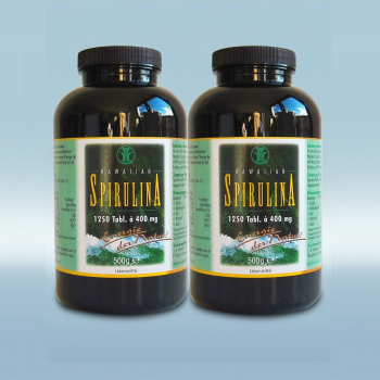 Das Original: Hawaiian Spirulina 2x 1250 Tabletten (1000 g)