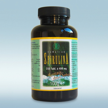 Das Original: Hawaiian Spirulina 250 Tabletten